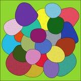 Color Sea Pebbles Stock Photos