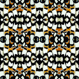Color Seamless natural pattern in butterfly print Stock Image