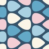 Color seamless pattern with guitar picks Vector illustration vector illustration