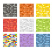 Color seamless patterns Royalty Free Stock Photo