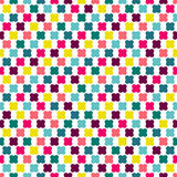 Color seamless repeat pattern Stock Photo
