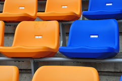 Color seat Royalty Free Stock Image