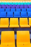 Color  Seat Pattern Stock Photo