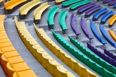Color  Seat Pattern Stock Photos