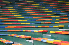 Color seat. Variety of colors Royalty Free Stock Images