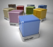 Color selection Stock Photo