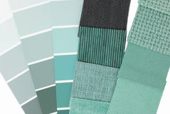 color selection for interior Stock Image