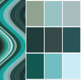 Color  selection for interior Stock Photography
