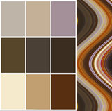 Color selection. Palette for interior Royalty Free Stock Photography