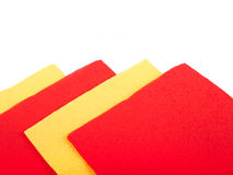 Color serviettes Royalty Free Stock Images