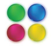 Color Set Concept Design. Stock Photos