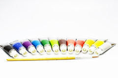 Color set and painting Stock Photos