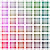 A Color Shaded Checkered Plaid Tile Pattern Royalty Free Stock Photo