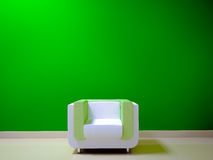 Color Shades White and green Stock Photos