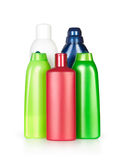 Color shampoo bottles. Royalty Free Stock Photos