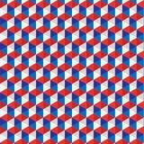 Color shapes pattern illustration design Royalty Free Stock Image