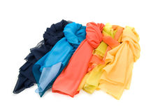 Color shawls Royalty Free Stock Photos