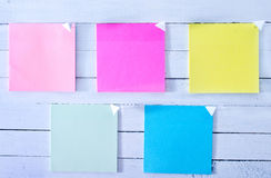 Color sheets Royalty Free Stock Images