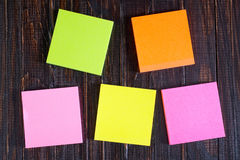 Color sheets Royalty Free Stock Photo