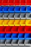 Color shelf Royalty Free Stock Photos