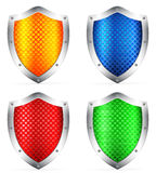 Color shields Royalty Free Stock Photo