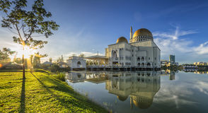 Color Shining at As-Salam Mosque Stock Photos