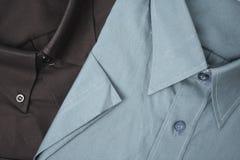 Color shirts close Stock Photos