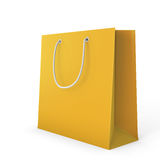 Color shopping bag on a white Royalty Free Stock Photo