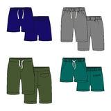 Color shorts. Vector illustration for your design. Color shorts Royalty Free Stock Photos