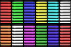 Color Shutters Stock Image