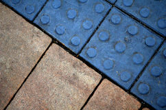 Color sidewalk Royalty Free Stock Photos