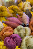 Color silk thread Royalty Free Stock Images