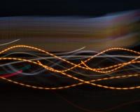 Color sine curves stock images