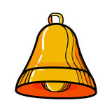 Color Sketch bell Royalty Free Stock Image