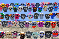 Color skull XVIII Royalty Free Stock Image