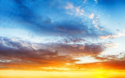 Color sky background Stock Photo