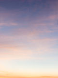 Color sky with clouds Stock Photos