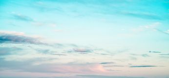 Color sky summer backround Royalty Free Stock Images