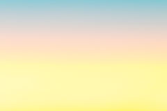 Color of sky in twilight time Stock Photography