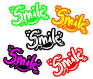 Color smile Royalty Free Stock Photos