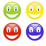 Color smile Stock Photos