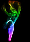 Color smoke Royalty Free Stock Photography