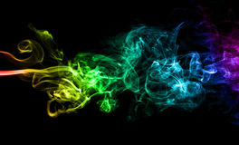 Color smoke Royalty Free Stock Photo