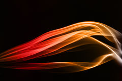 Color smoke. Smoke abstract photo to background Royalty Free Stock Photography