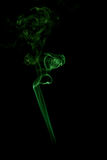 The color of smoke on black. Background Royalty Free Stock Photography