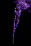 The color of smoke on black Royalty Free Stock Photography