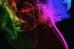 Color smoke Royalty Free Stock Photos