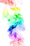 Color smoke isolated on white background Royalty Free Stock Photography
