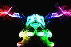 color smoke Royalty Free Stock Images