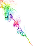 Color Smoke On White Royalty Free Stock Photography